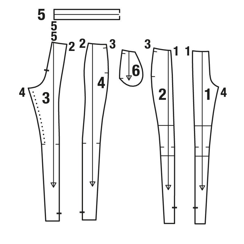 Мастер-класс: как сшить брюки в стиле пэчворк