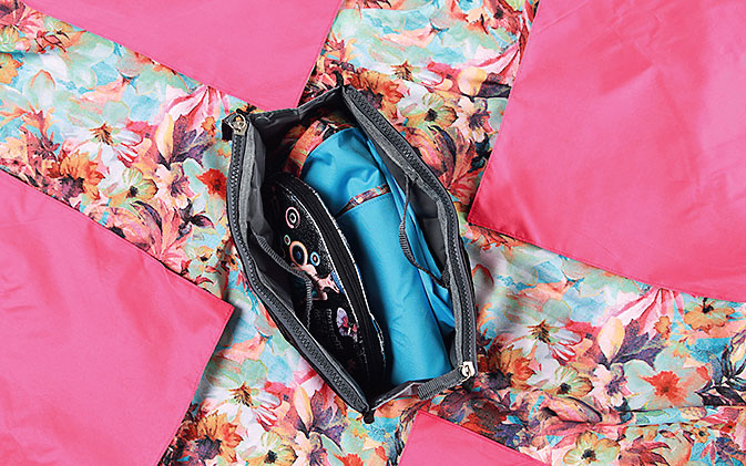 Мастер-класс: летняя сумка изплатка