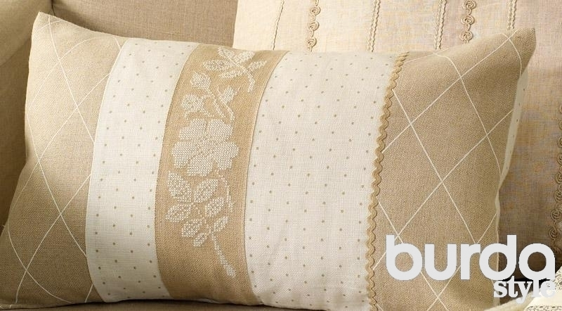 Наволочка диванная подушка своими руками