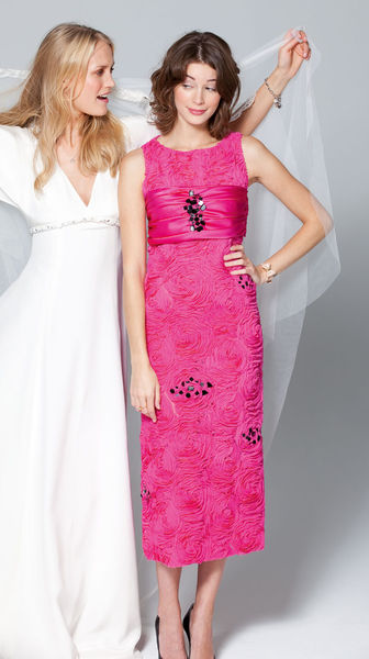 Мини-платье А-силуэта – мода 60-х