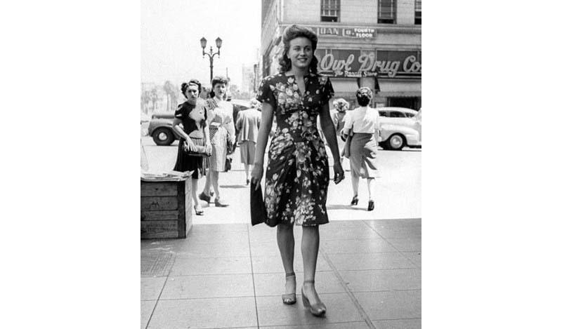 Мода 40-х годов: как это было