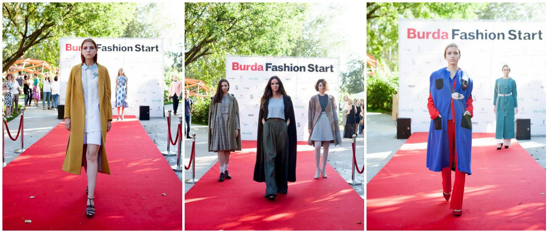 В парке Музеон состоялся финальный показ конкурса Burda Fashion Start