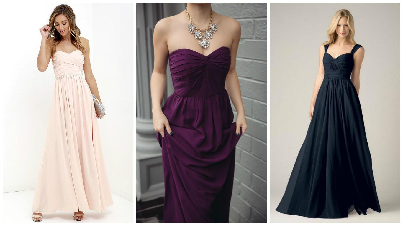 Макси-платье для невысоких девушек: 6 советов