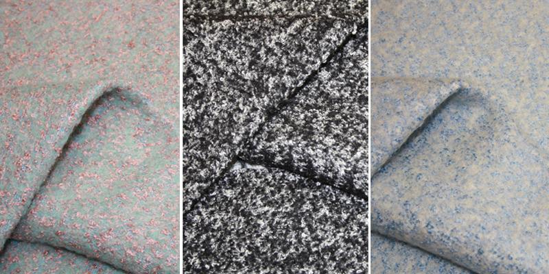 Букле – модная ткань