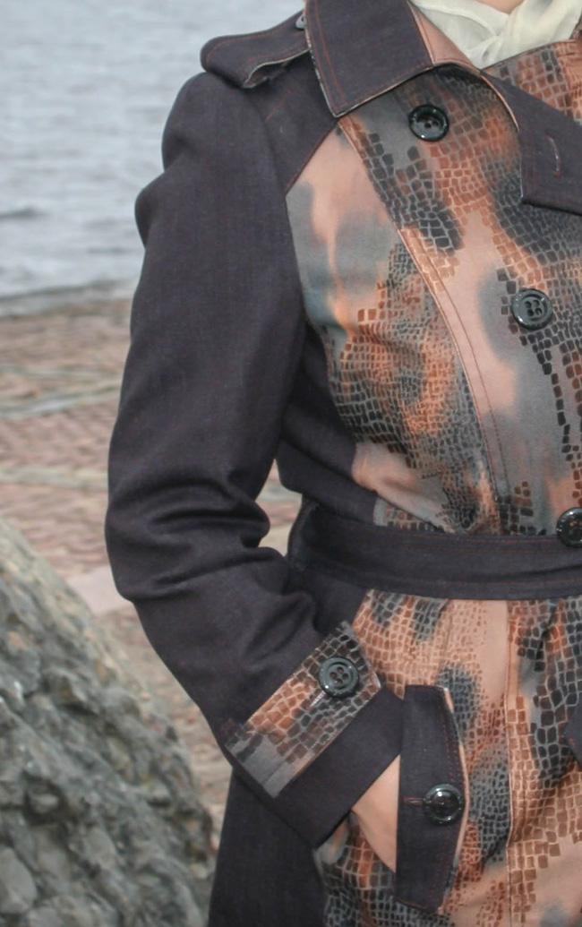 Распошивание иразмётывание проймы вверхней одежде. Часть 1