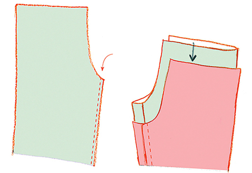 Как сшить трикотажные легинсы и топ для девочки
