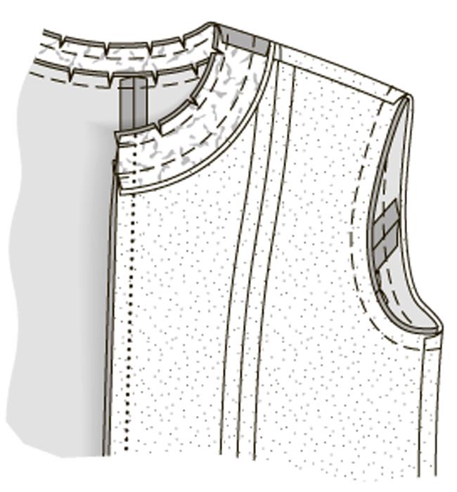 Как сшить жакет сажурными полочками