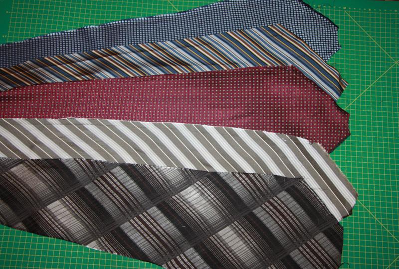 Что можно сделать изстарых галстуков