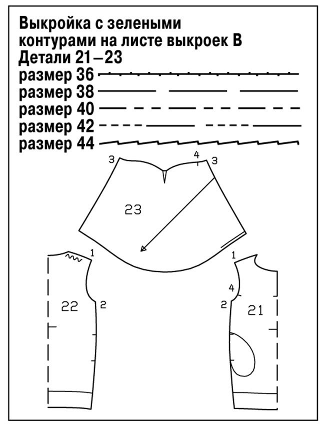 Шьём летнюю блузку с пышными рукавами