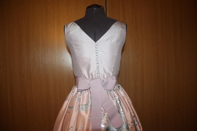 Платье навыпускной своими руками