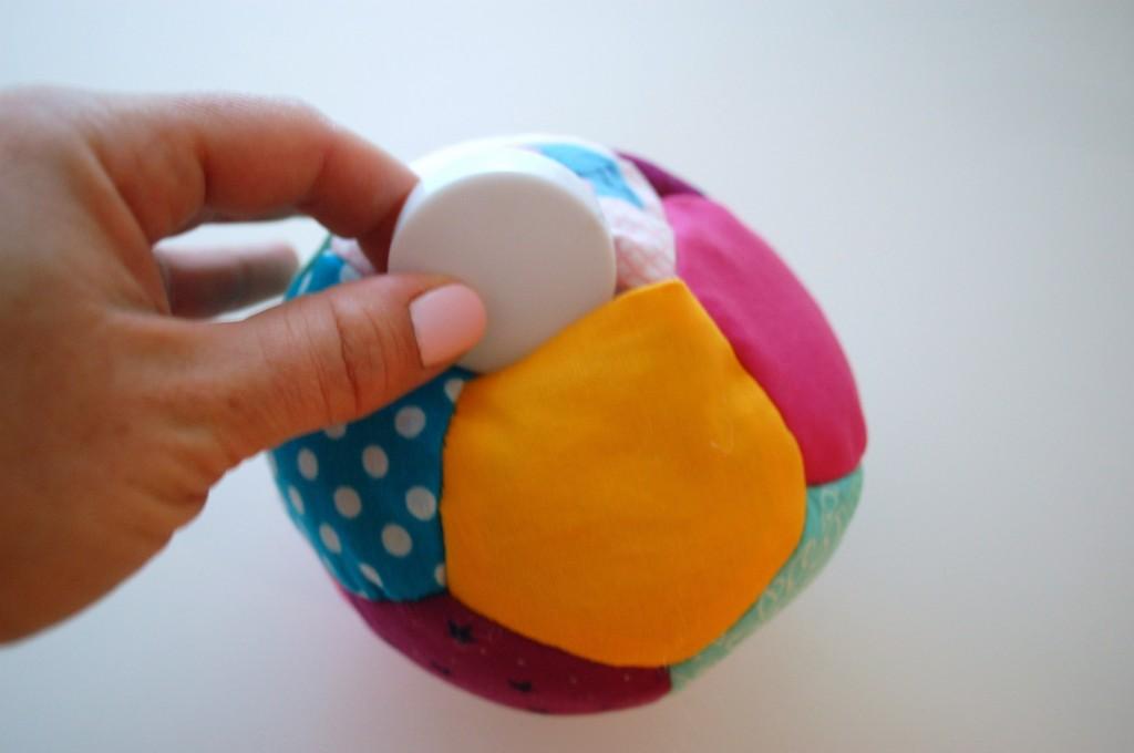 Как сшить мяч изткани