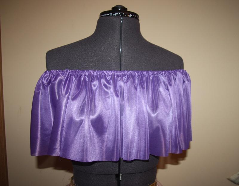 Как сделать пышный подклад для юбки