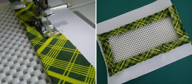 Как сделать коврик подпедаль швейной машинки