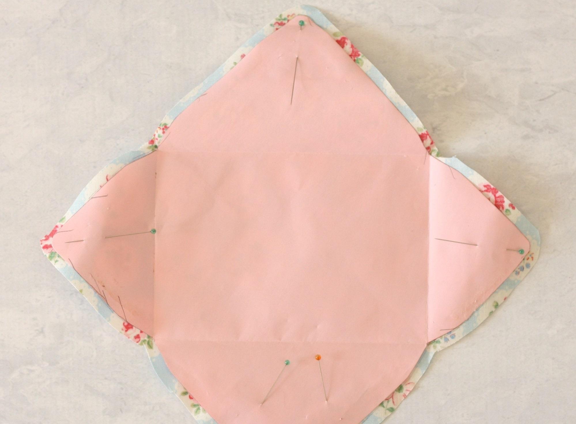 Как сделать конверт изткани